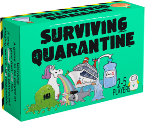 Surviving Quarantine PREORDER – LATE KICKSTARTER PLEDGE