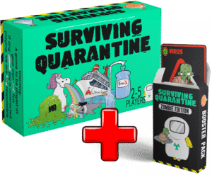 Surviving Quarantine Zombie Edition – PREORDER – LATE KICKSTARTER PLEDGE